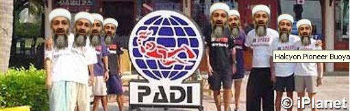 PADI terrorists